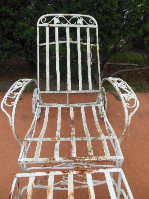 Salterini Mt Vernon club chair with footstool SOLD