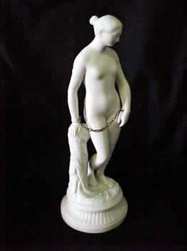 Parian Figurine Of The Greek Slave With Chain SOLD