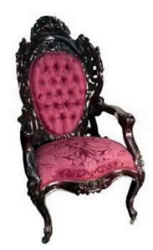 Joan Bogart Antiques; Belter  Armchair