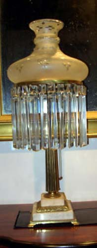 Victorian Sinumbra Lamp-SOLD