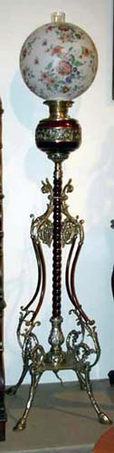 Victorian Aesthetic Floor Lamp Hold