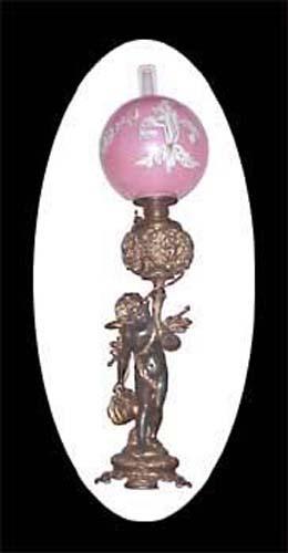 Cherub Kerosene Lamp - 206