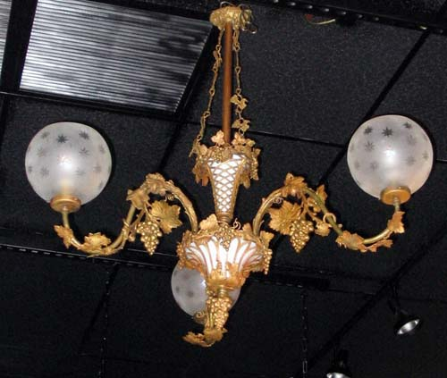 Rococco Gas Chandelier