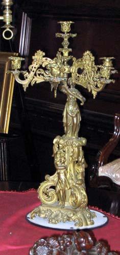 Cornelius & Co Figural Candlelabra - 892A