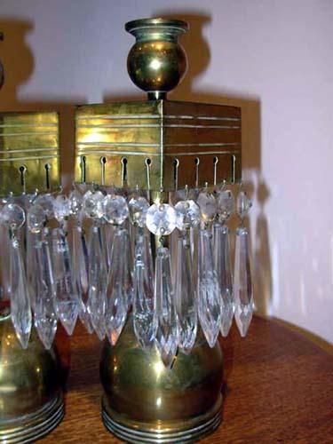 Pr Aesthetic Brass Candlesticks