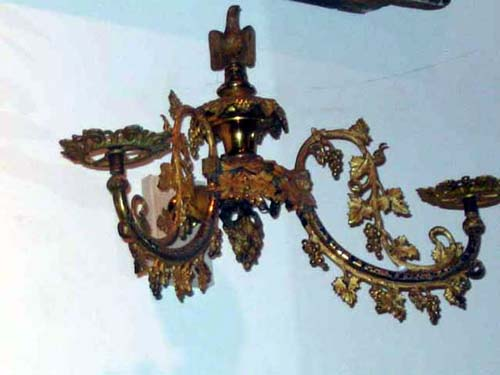 Rococco Gas Sconce