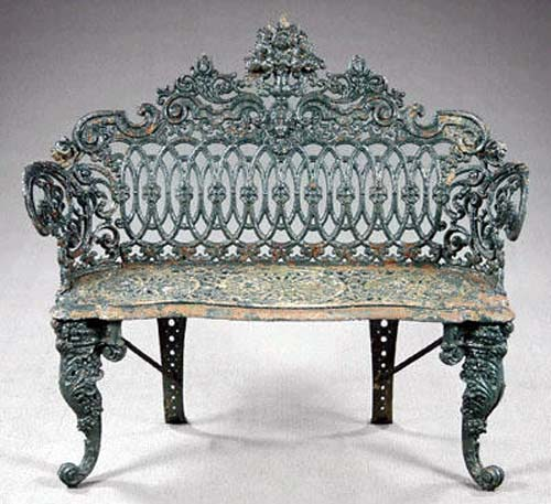 Cast Iron Victorian Bench SOLD
