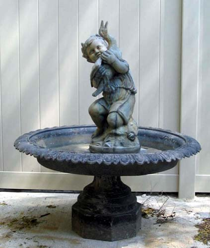Mott Victorian Zinc Fountain:SOLD