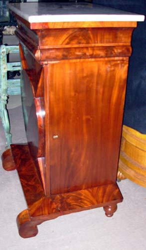 Cabinet: Am Classical Cabinet w Marble top: SOLD