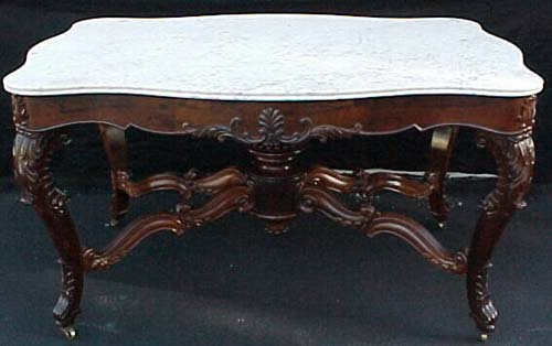 Table:Roux Rosewood Center Table:Signed