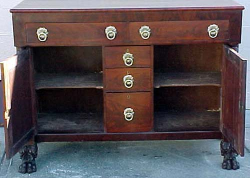 Am. Classical or Empire Sideboard:Sold