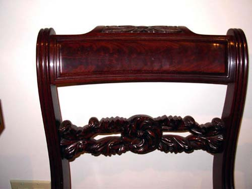 Classical Carved Side Chairs: Sold