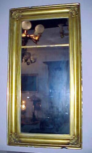 Gilt Ogee Mirror  SOLD