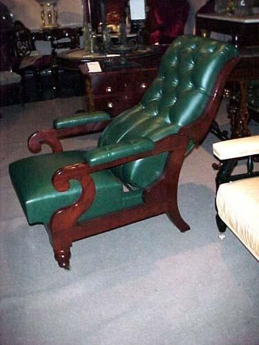 Chair:Classical Reclining Chair: