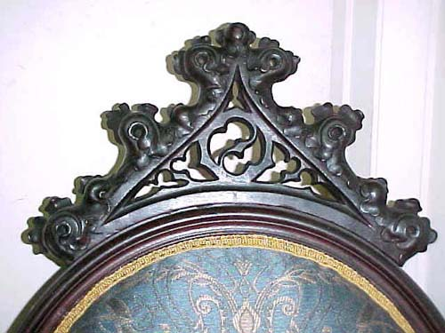 Gothic Revival Armchair::SOLD