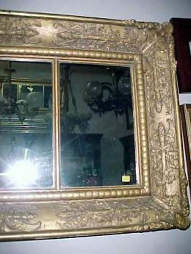Classical  Overmantel Mirror :SOLD