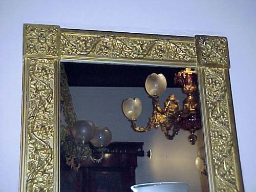Gothic Revival sgd Am. Mirror  SOLD