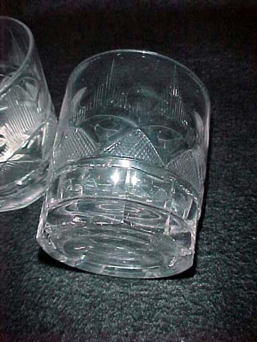 Pittsburgh  Cut Glass Tumblers:SOLD