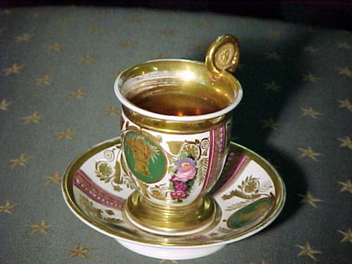 Tea Cup Old Paris Empire