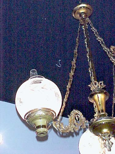 19thC Rare Astral or Solar Chandelier; SOLD: