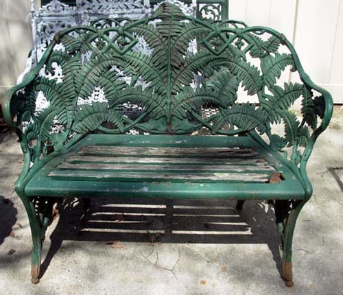 Coalbrookdale Fern Bench-SOLD