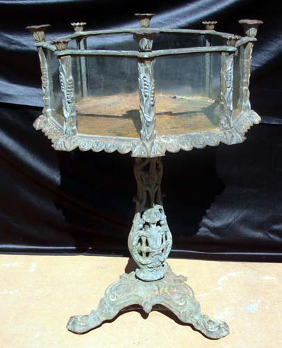 Cast Iron Fiske Terrarium-SOLD
