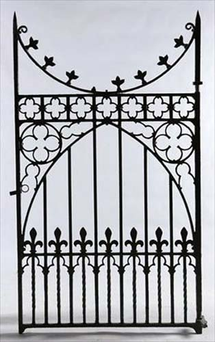 Gothic Revival Gate  SOLD