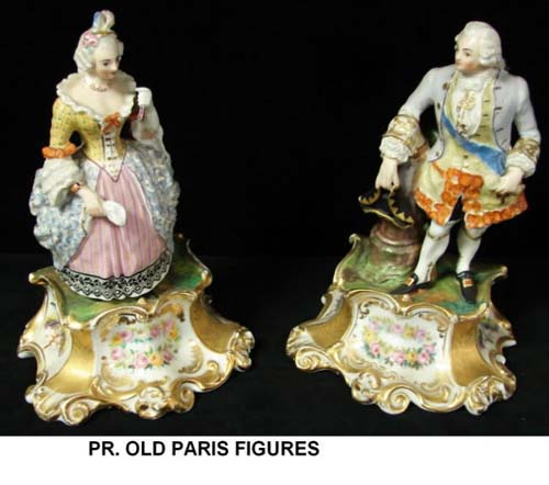 Figurines: Old Paris Porcelain