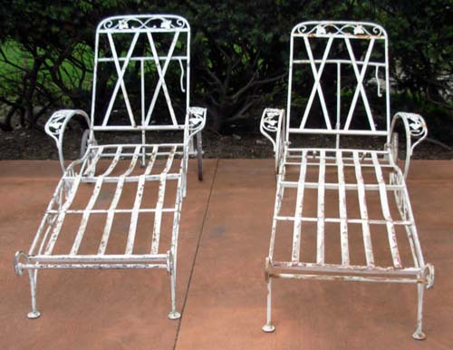 Salterini Chaise Lounges-Pr-Sold