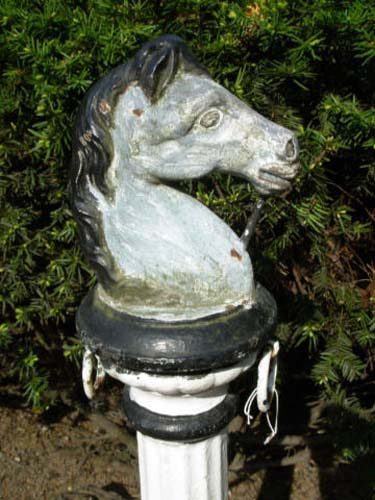 Cast Iron Hitching Post SOLD