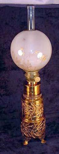 Parker Aesthetic Brass Lamp-Sold