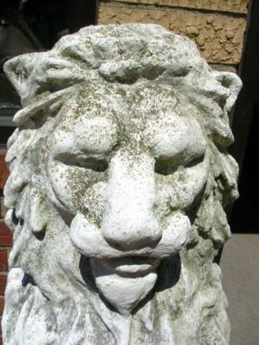 Stone Statues,  Lions SOLD
