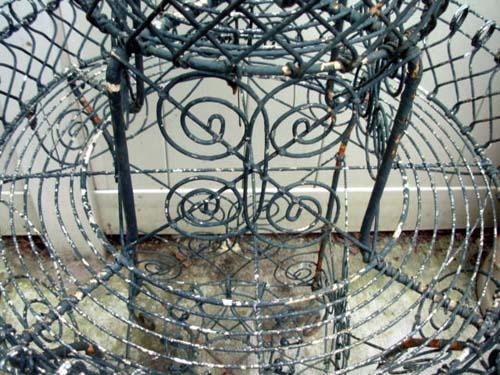 Garden Wire Planter