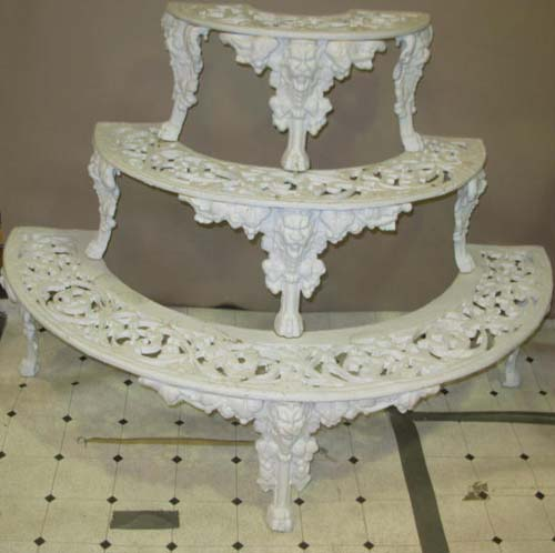 Cast Iron Garden Plant Stand SOLD