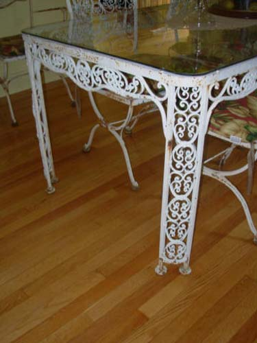 Woodard Wrought Iron Dining Set SOLD