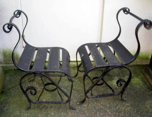 Chairs, Wrought Iron :pr