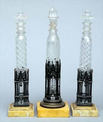 Gothic Perfume Bottles  SOLD