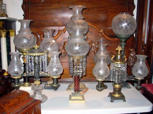 Astral and Argand Lamps