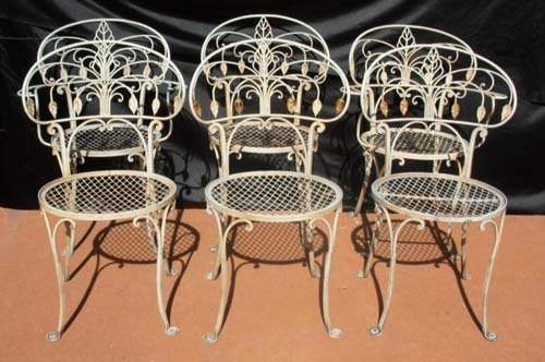 Salterini  Dining Chairs  SOLD