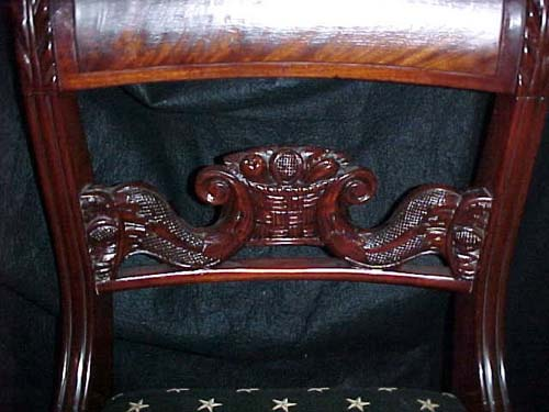 Chairs:Am. Classical set of 4 Side Chairs