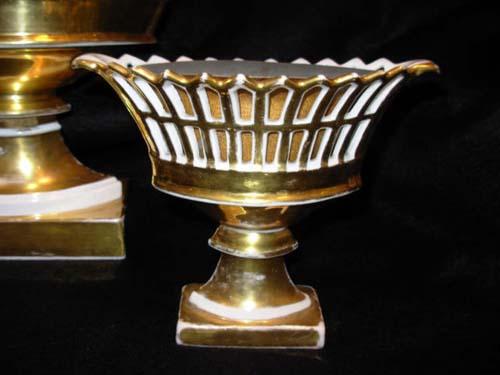 Old Paris Basket Set  SOLD
