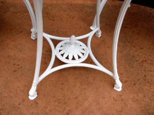 Garden  Bistro Set, Shell & Sea Horse 3pc