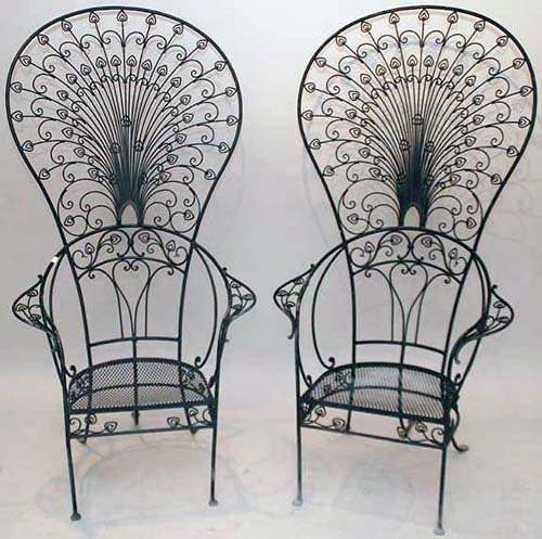 Salterini Peacock Chairs SOLD