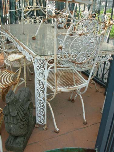 Woodard Andalusian Dining Set SOLD