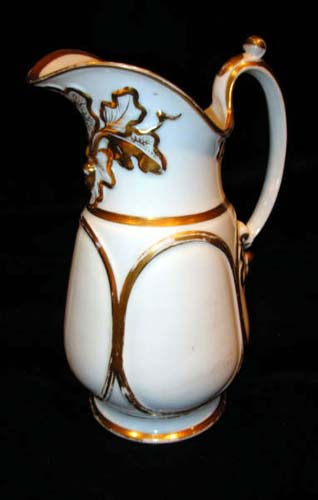 Am Porcelain Pitcher Cartiledge SOLD