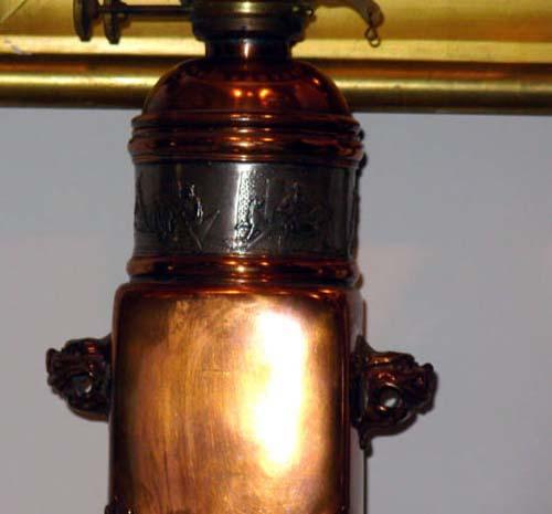 Aesthetic Gorham Copper Lamp SOLD
