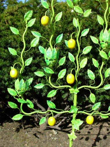 Tole Lemon Tree  SOLD