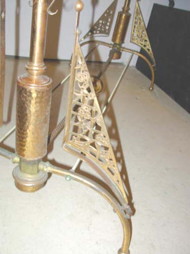 Aesthetic Charles Parker Brass Fire Screen