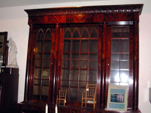 Bookcase: Am.Classical & Gothic SOLD