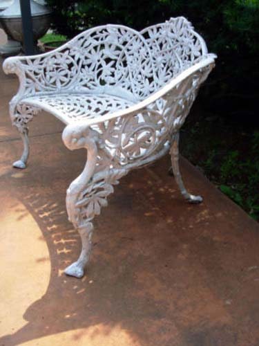 Bench,  Passion Flower SOLD